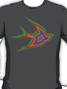 Psychedelic swallow T-Shirt