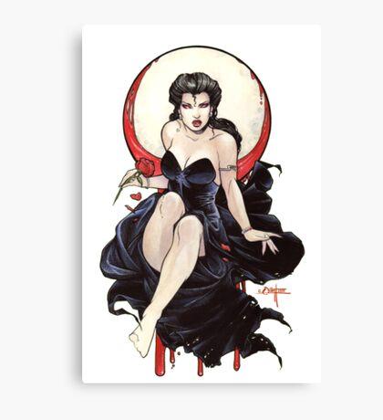 Vamp I Canvas Print