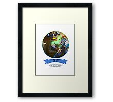 League Of Legends - Olaf Framed Print
