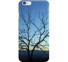 A lone tree at sunrise iPhone Case/Skin