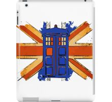 Dr Who - The Tardis - Vintage Jack iPad Case/Skin