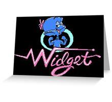 Widget Greeting Card