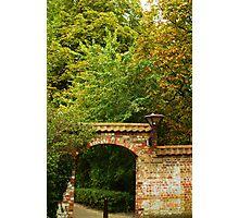 Oostduinkerke - Gate to Nowhere - Belgium Photographic Print