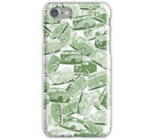 Camper Collage (Green) iPhone Case/Skin