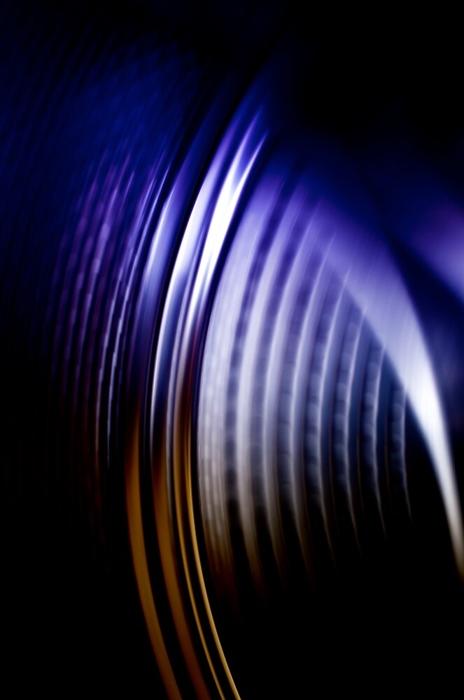 blue spin by Martin Pickard