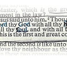 MATTHEW 22 - THE GREATEST COMMANDMENT by Calgacus