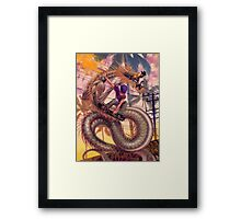 Dragon Skater Framed Print