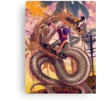 Dragon Skater Canvas Print