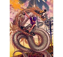 Dragon Skater Photographic Print
