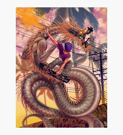 Dragon Skater Photographic Print