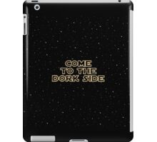 The Dork Side iPad Case/Skin