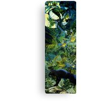 Night of the panther Canvas Print