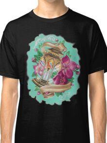 lantern with cherry blossoms Classic T-Shirt