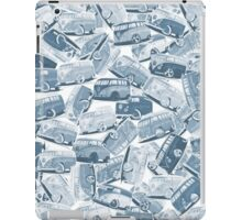 Camper Collage (Blue) iPad Case/Skin