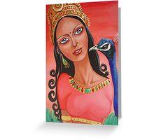 Lakshmi Greeting Card