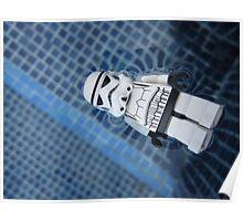 Dave Stormtrooper Tenerife in Pool Poster