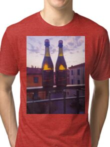 Vino in the sunset Tri-blend T-Shirt