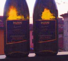 Vino in the sunset Sticker