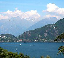 Lake Como (Lago di Como) Italy by Peggy Berger
