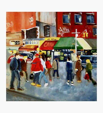 STREET SCENE Photographic Print