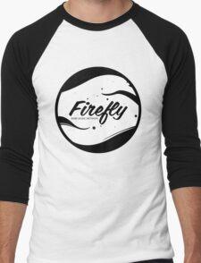 FireflyMedia Logo 2 Men's Baseball ¾ T-Shirt