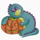 halloween dino by BRENDEN HOWARD