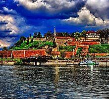 Medieval Fortress Kalemegdan Belgrade by stockfineart