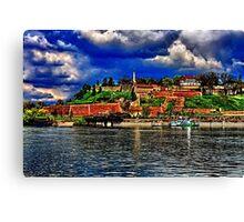 Medieval Fortress Kalemegdan Belgrade Canvas Print