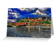 Medieval Fortress Kalemegdan Belgrade Greeting Card