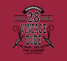 Vintage Dud Aged 28 Years Long Sleeve T-Shirt