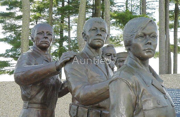 WI Korean War Memorial - The Statues #1 by AuntieJ
