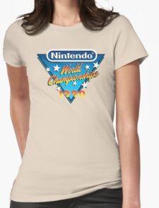 Nintendo World Championships 1990 Womens Fitted T-Shirt