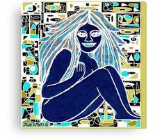 L'AMOUR EST BLEU Canvas Print