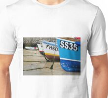 Fishing Boats, St Ives, Cornwall Unisex T-Shirt