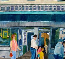 Up The Avenue by Marita McVeigh