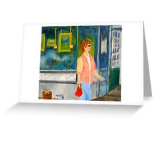 Shopper Greeting Card