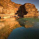 Reflecting on Canyon X by David Haworth