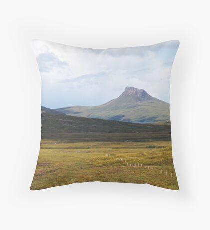 Stac Pollaidh Throw Pillow