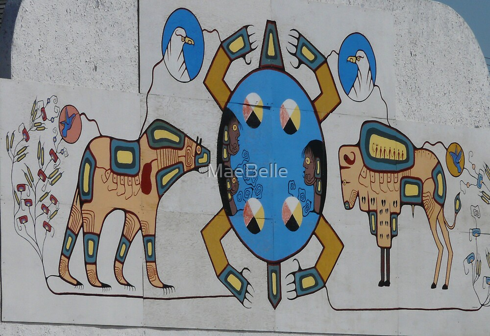 Store Front Mural, Kamsack,Sask,Canada by MaeBelle
