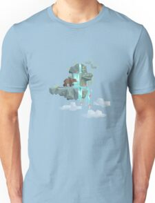 Low Poly Bear Fishing for Salmon Unisex T-Shirt