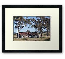 Sandy Creek Rd - Mt Vincent Framed Print