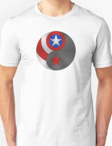 Winter Cap Ying Yang Unisex T-Shirt