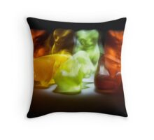 Gummy Bear Photography - Sometimes Slower is Better Throw Pillow