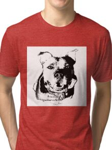 Big Teeth, Bigger Heart Tri-blend T-Shirt