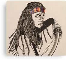 The Walking Dead - Michonne Canvas Print