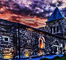 Medieval Church Ruzica Fortress Kalemegdan Belgrade by stockfineart