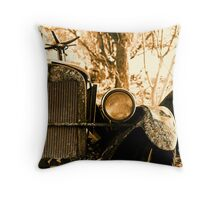 Bygone Days.... Throw Pillow