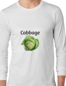 Cabbage. Long Sleeve T-Shirt