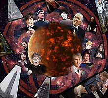 A Tribute to the Five Doctors by PaulMonj