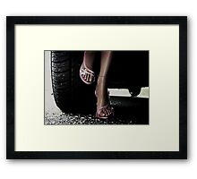 In the Pink Framed Print